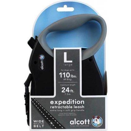 Alcott navíjecí v.Expedition(do 49,8kg)černé L 7,3m