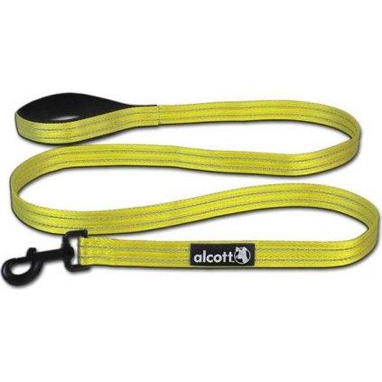 Vodítko nylon Visibility žluté 3,5x180 Alcott