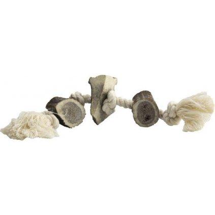 Paroží na bavlněném provazu mini 60-90g