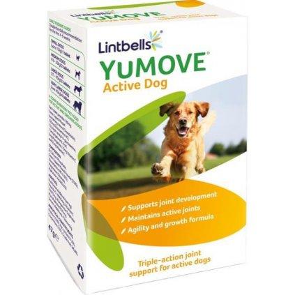 Lintbells YuMOVE Young and Active pro psy 60 žvýkacích tablet