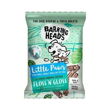 BARKING HEADS Treats Floss'n' Gloss Litt.Paws 100g