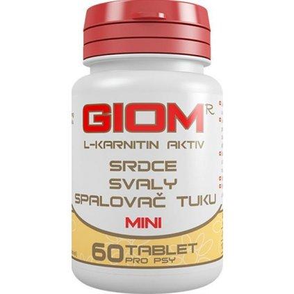 Giom ERA L-karnitin Aktiv MINI 60 tbl + 20% zdarma