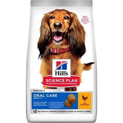 Hill's Science Plan Canine Adult Oral Care Medium Chicken 2 kg NOVÝ