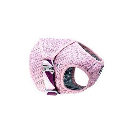 Vesta chladící Hurtta Cooling Wrap 55-65 růžová