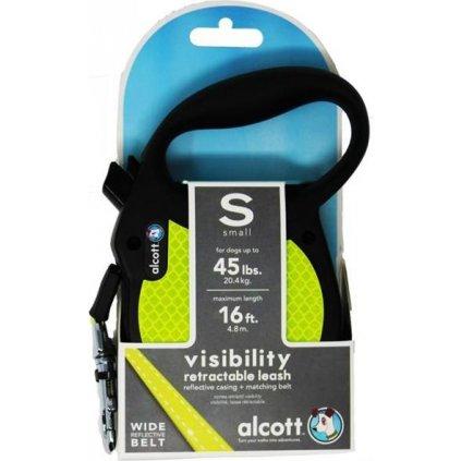Alcott navíjecí v.Visibility(do 20kg)neon S 5m
