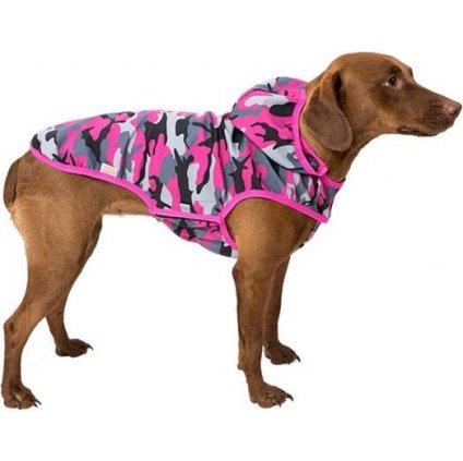 """Obleček-Vesta softshell """"Lady"""" růžový maskáč 32cm"""