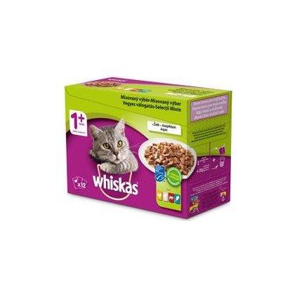 Whiskas kapsa Mixovaný výběr v želé 12x100g