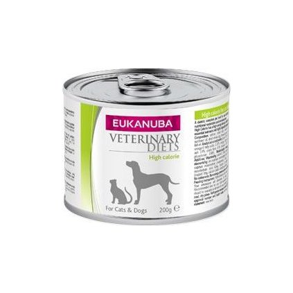Eukanuba VD Cat&Dog konzerva High Calorie 200g- doprodej skladu