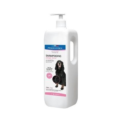 Francodex Šampon černá srst pes 1L- doprodej skladu
