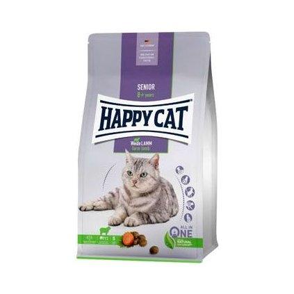 Happy Cat Senior Jehněčí 4kg