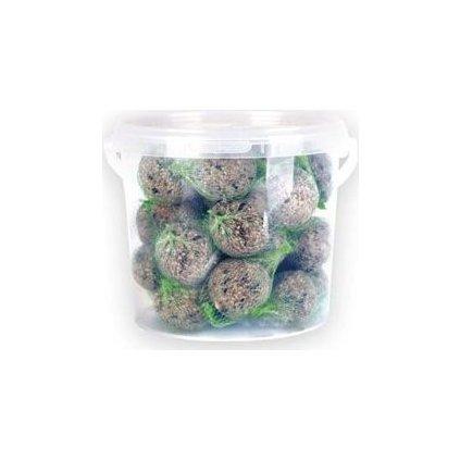 Lojové koule v plastovém kbelíku 5l- doprodej