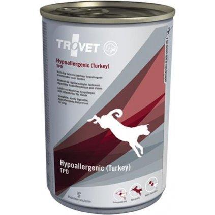 Trovet Canine TPD Hypoallergenic konzerva Turkey 400 g
