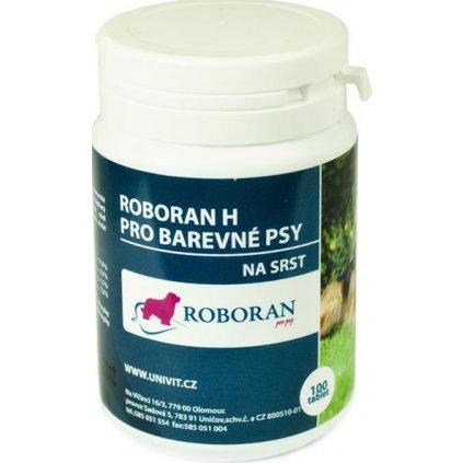 Roboran H pro psy barevné 100 tbl (Exp.)