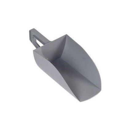 Lopatka na krmivo plast 1,5kg šedá