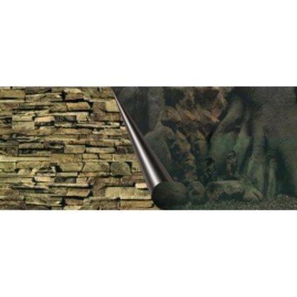 Pozadí akvarijní Tree+Rock Duvo+ 120 x 50 cm