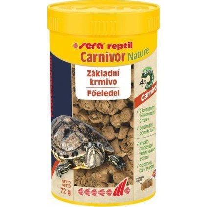 Sera Profesional Carnivor Nature - plaz 250 ml