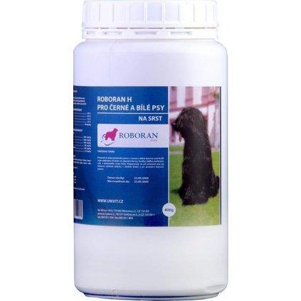 Roboran H pro psy černé a bílé plv 400 g