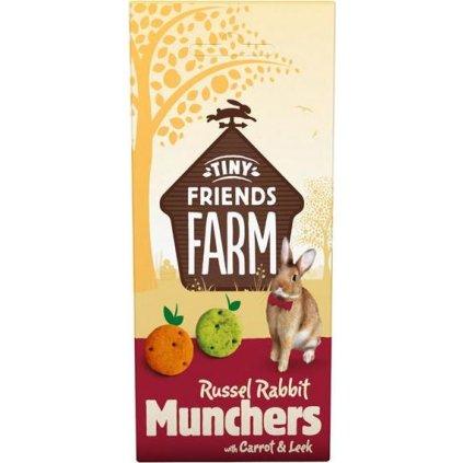 Supreme Tiny FARM Snack Russel Munchers - králík 120 g