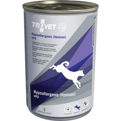 Trovet Canine VPD Hypoallergenic Venison konzerva 400 g