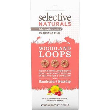 Supreme Selective Naturals snack Woodland Loops 60 g