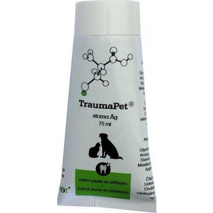 TraumaPet stoma Ag 75ml zubní pasta
