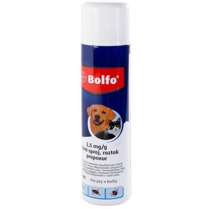 Bolfo Antiparazitní sprej pro psy a kočky 250 ml