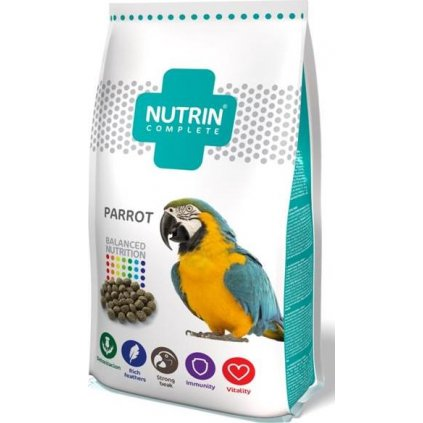 Nutrin Complete Parrot - papoušek 750g