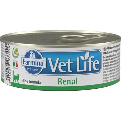 Vet Life Natural Feline konz. Renal 85 g