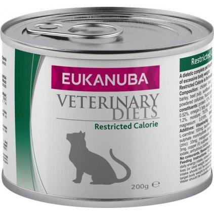 Eukanuba VD Cat Restricted Calorie konzerva 200 g