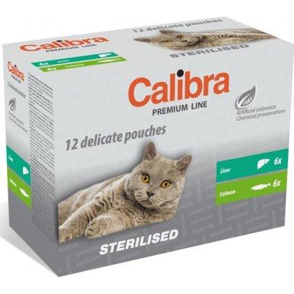 Calibra Cat kaps. Premium Steril. multipack 12x100 g