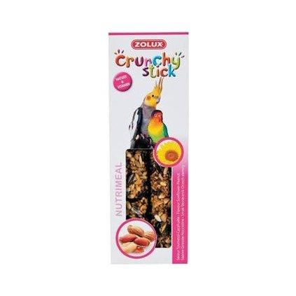 Crunchy Stick Large parakeet Slunečnice/Buráky 2ks Zol