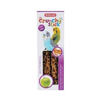 Crunchy Stick Parakeet Proso/Jablko 2ks Zolux