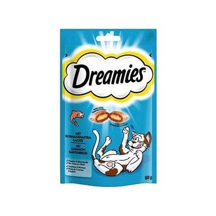 Dreamies kočka pochoutka s lososem 60g