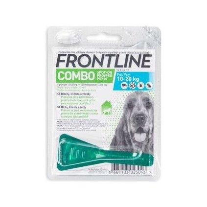 FRONTLINE COMBO spot-on pro psy M (10-20kg)-1x1,34ml