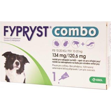 Fypryst Combo spot on 134/120,6mg a.u.v. sol 1x1,34mg