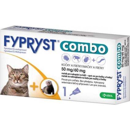 Fypryst Combo spot on Cat 50/60mg a.u.v. sol 1x0,5 ml