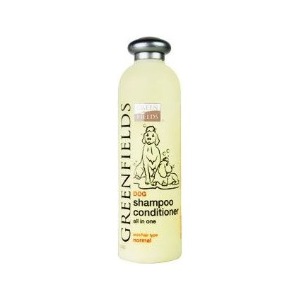 Greenfields šampon s kondicionérem pes 400ml