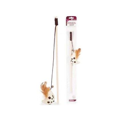 Hračka kočka Udice č.16 Natural Only 40cm