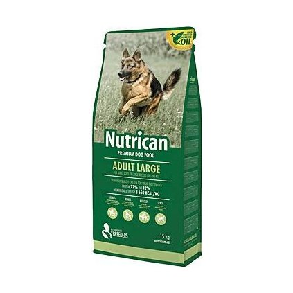 NutriCan Adult Large 15kg new