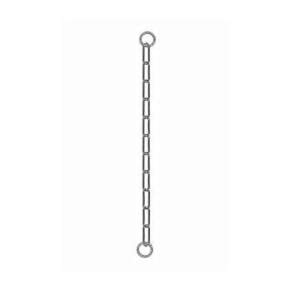Obojek kovový stahovák dlouhá oka 1-řadý 50cm