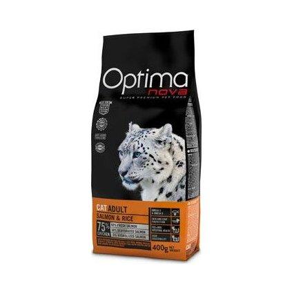 Optima Nova Cat Adult salmon & rice 400g