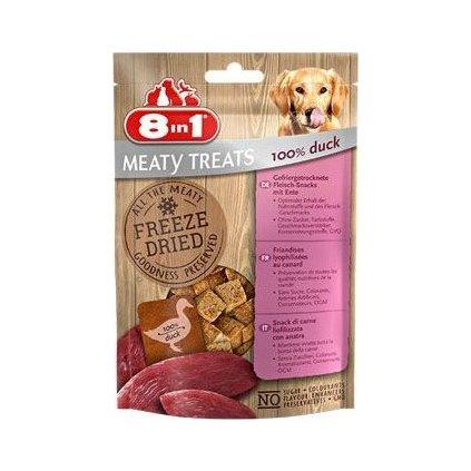 Pochoutka 8in1 Meaty Treats FD Duck 50g