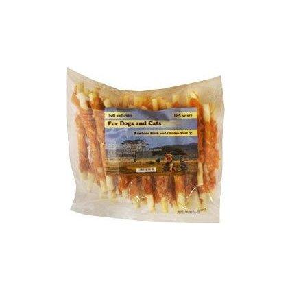Pochoutka Tyčinka z buvolí kůže s kuřecím masem 500g