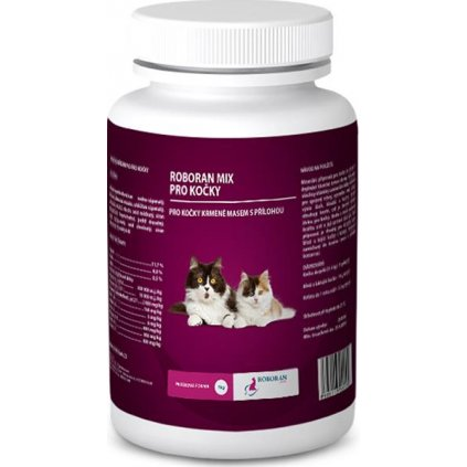 Roboran MIX pro kočky plv 1 kg