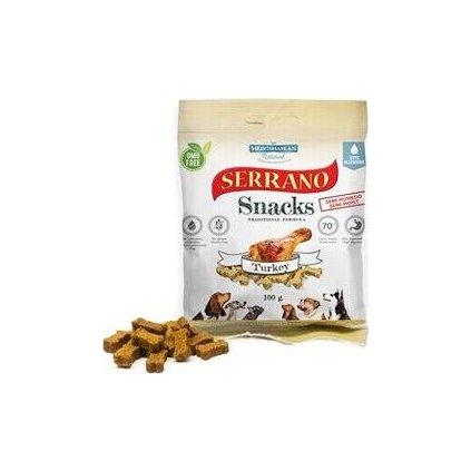 Serrano Snack for Dog-Turkey 100g