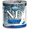 N&D OCEAN Dog konz. Puppy Codfish & Pumpkin 285 g