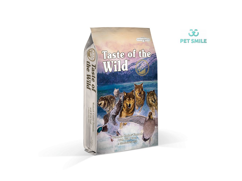 Taste of the Wild Wetlands Canine - 2 kg