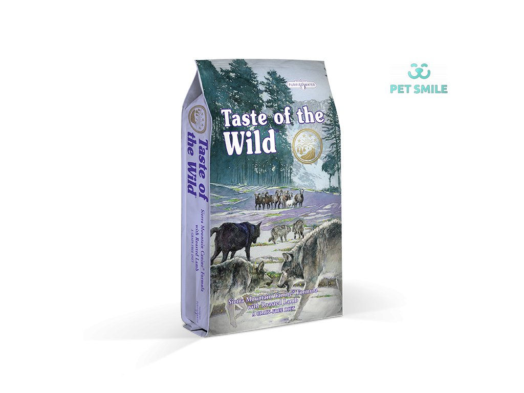 Taste of the Wild Sierra Mtn. Canine - 5,6kg