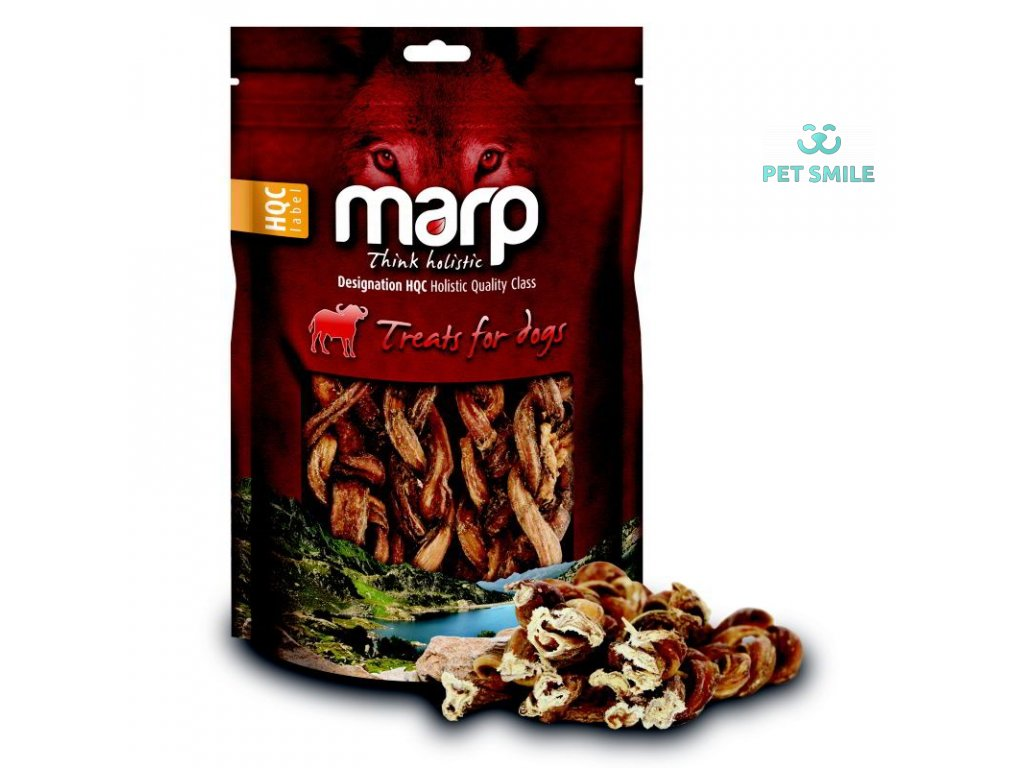 Marp Treats Buffalo Braided Stick - sušený zapletený penis 150g