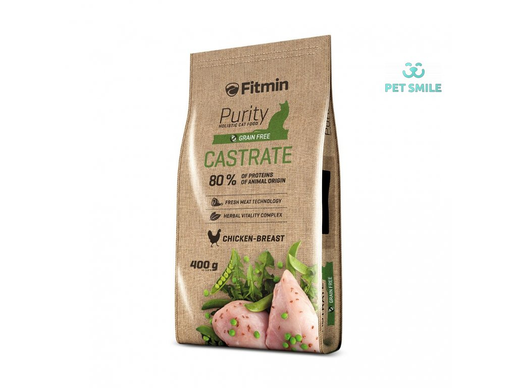 Fitmin cat Purity Castrate - 400 g